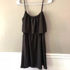 Black tank dress size L